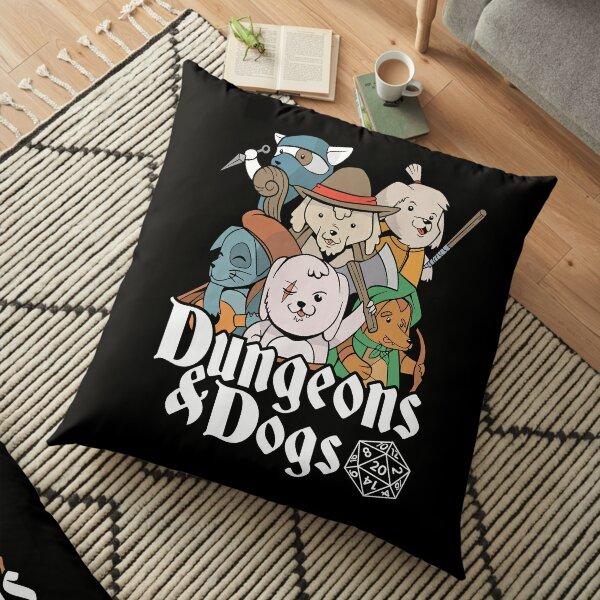DUNGEON DOGS Floor Pillow