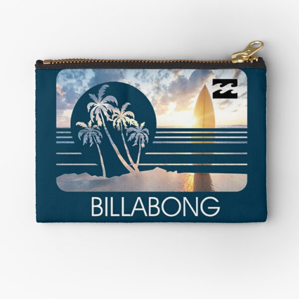 the dream of surfing Zipper Pouch