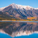 Fall at Twin Lakes by Luann wilslef