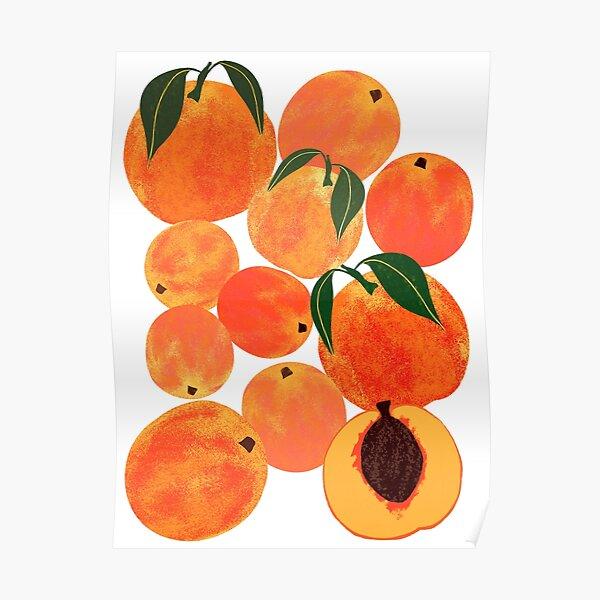 Peach Harvest Poster