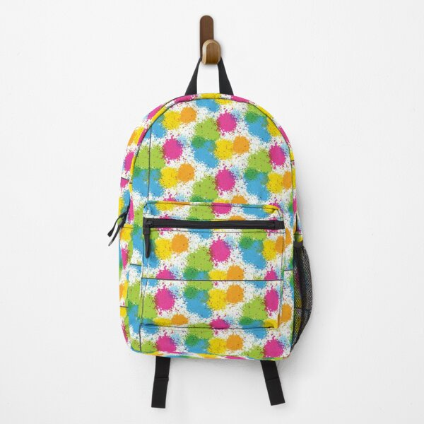 colourful Designs Patterns Backpack