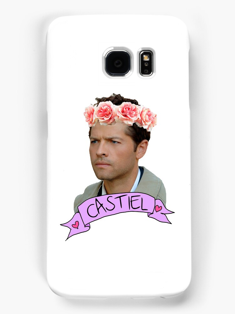 Hipster Castiel by melaniewoon