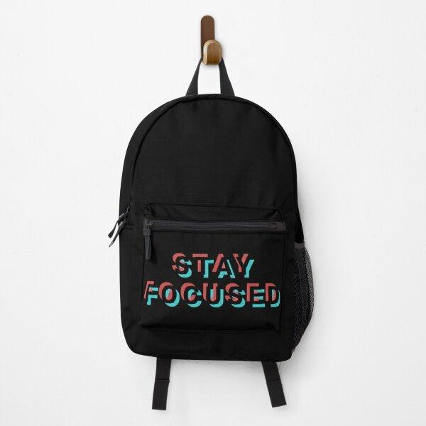 Stay focused black Backpack