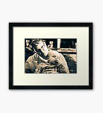 Beccy & Dean Framed Print