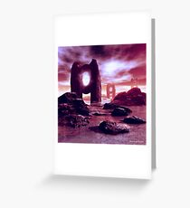 The Oracles Greeting Card