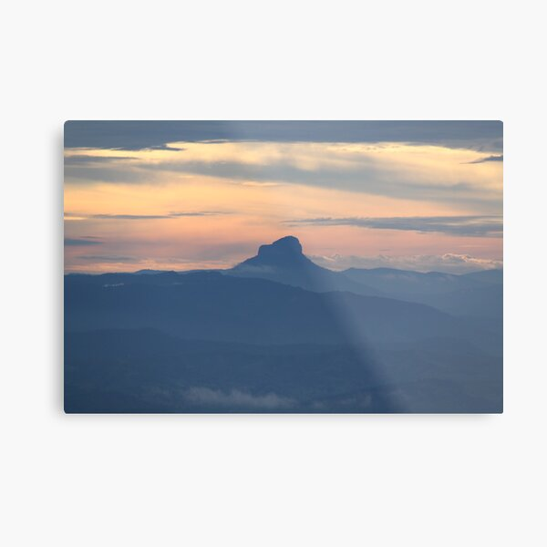 Lamington Sunset Metal Print