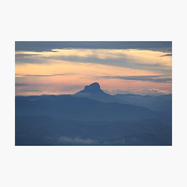 Lamington Sunset Photographic Print