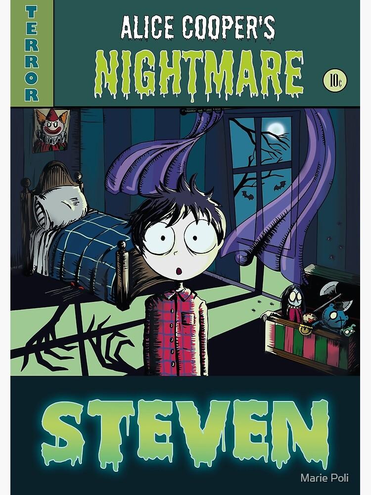 "«Illustration ""contes de crypte"" - Steven"" - Alice Cooper» par MariePoli"