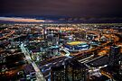Melbourne at Night by Raymond Warren
