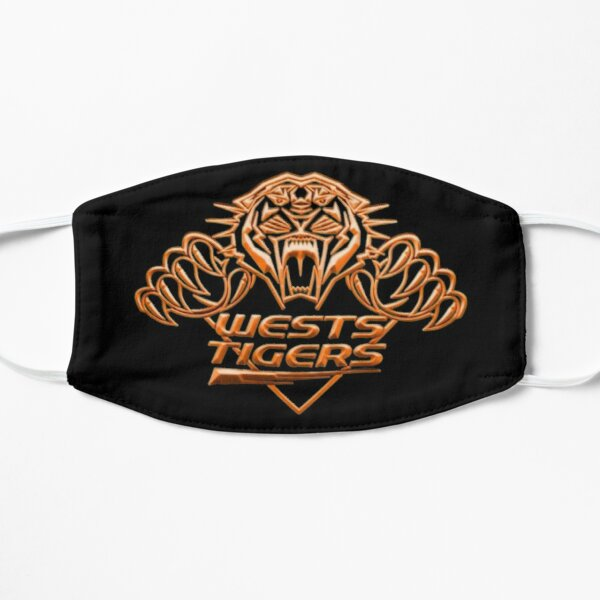 Wests tigers football club | AFL Aussie football Flat Mask