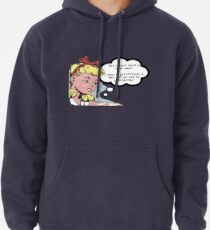 "I don't want a ""nice man"" - feminist tee Pullover Hoodie"