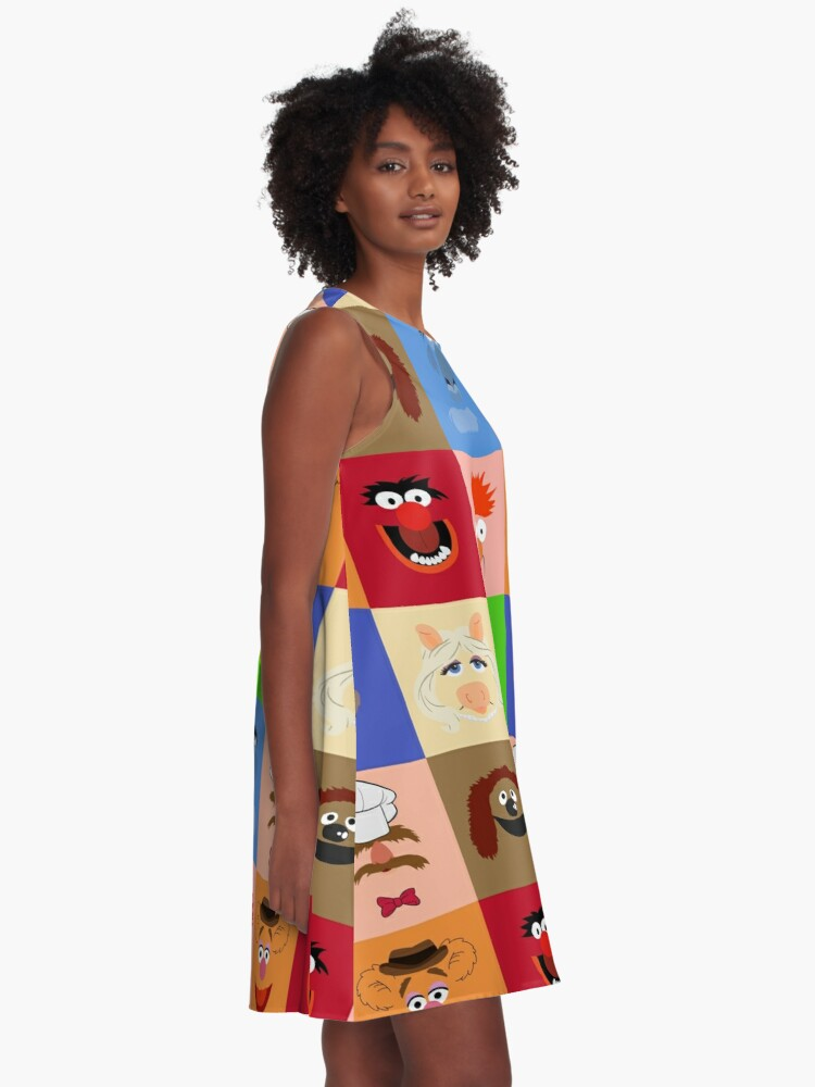 Alternate view of Muppets A-Line Dress