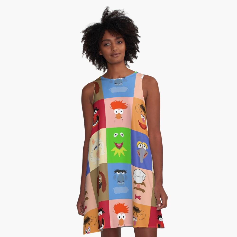 Muppets A-Line Dress