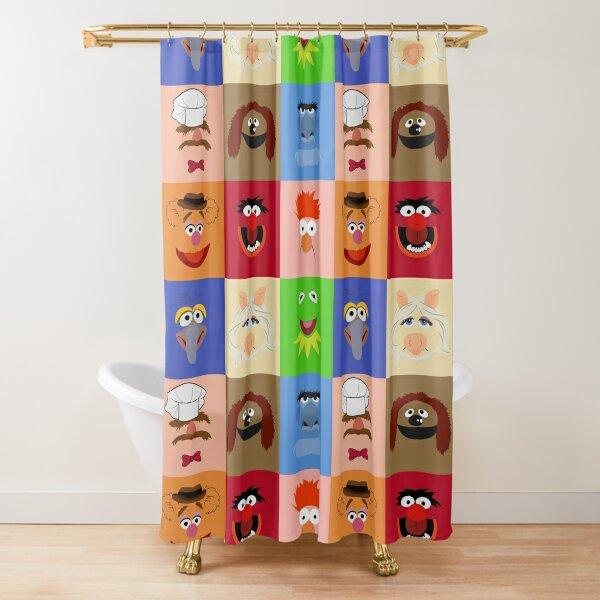 Muppets Rideau de douche