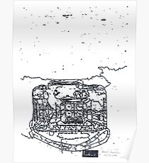 LINE camera 11 : ACTIONSAMPLER FLASH by Lomography Camera Poster