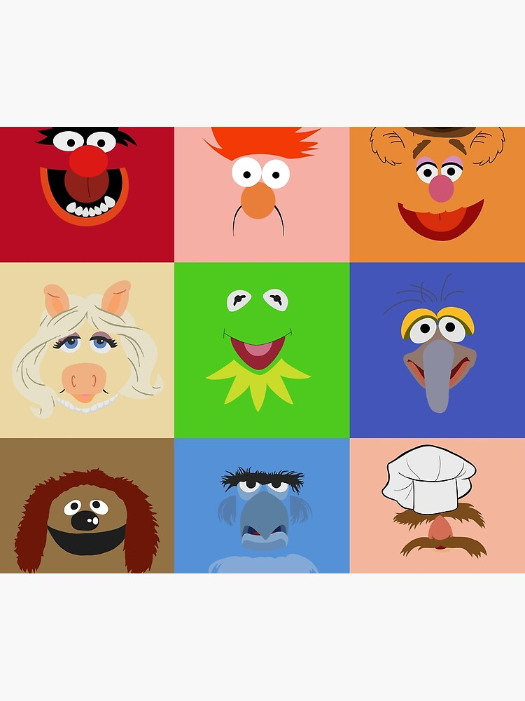 Muppets by geekartistry