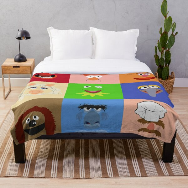 Muppets Throw Blanket