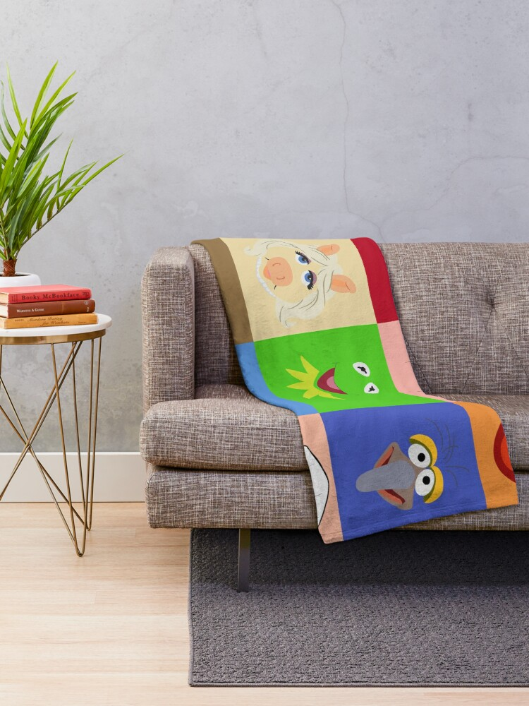 Alternate view of Muppets Throw Blanket