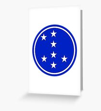 7th Infantry Division, Republic of Korea Army Greeting Card