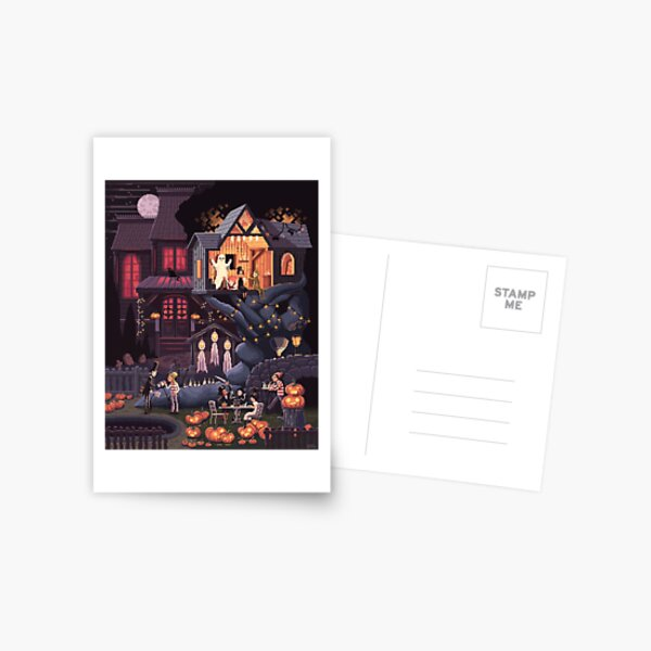 Scene #35: 'Pumpkins' Postcard