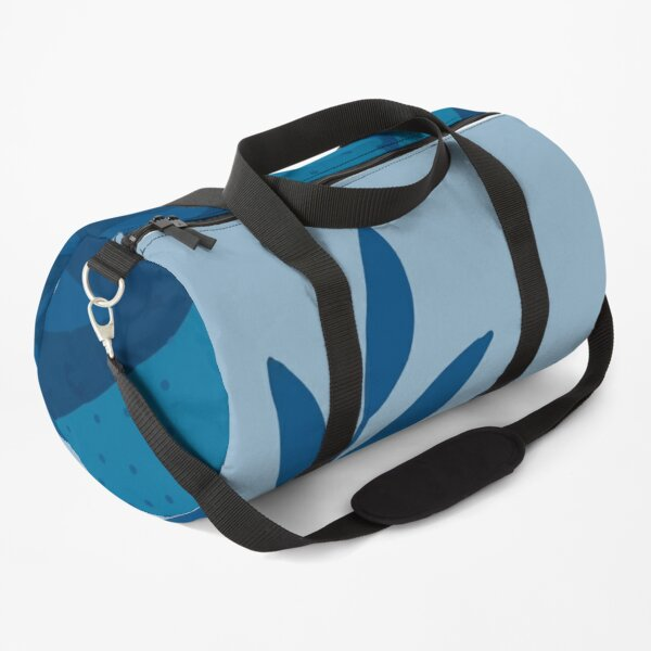 Color Yearpalm Leaves Background Duffle Bag