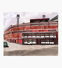 Manchester United - Old Trafford  Photographic Print