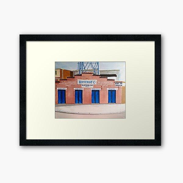 Blackburn Rovers - Ewood Park Framed Art Print