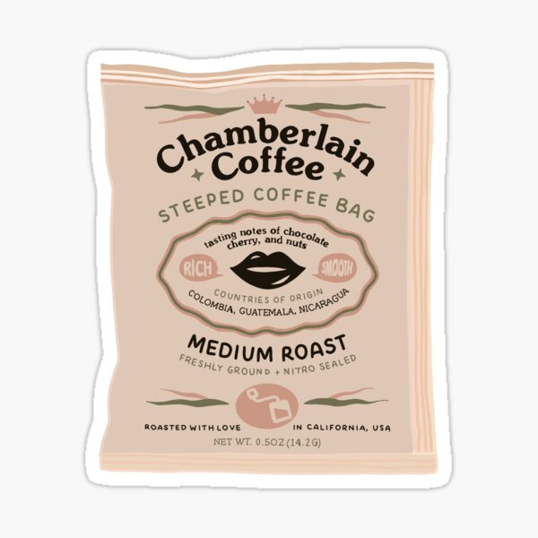 Chamberlain Coffee Glossy Sticker