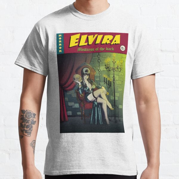 "Illustration  ""contes de la crypte"" Elvira mistress of the dark T-shirt classique"