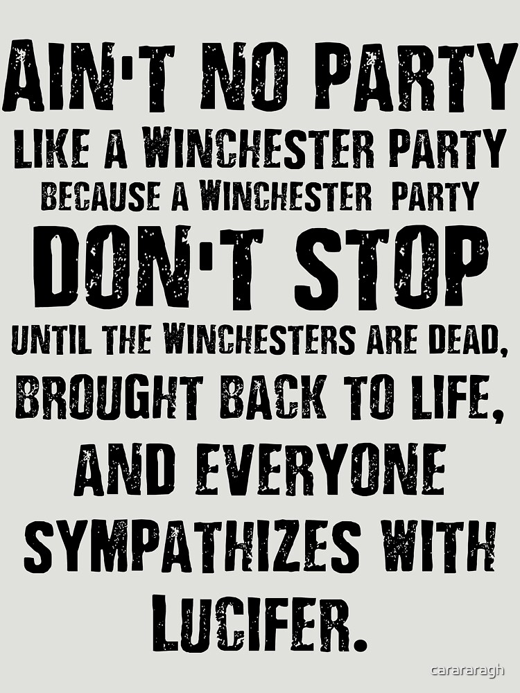 Ain't No Party Like A Winchester Party | Women's T-Shirt