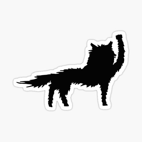 Fantastic Mr Fox Wolf Fist of Solidarity  Sticker