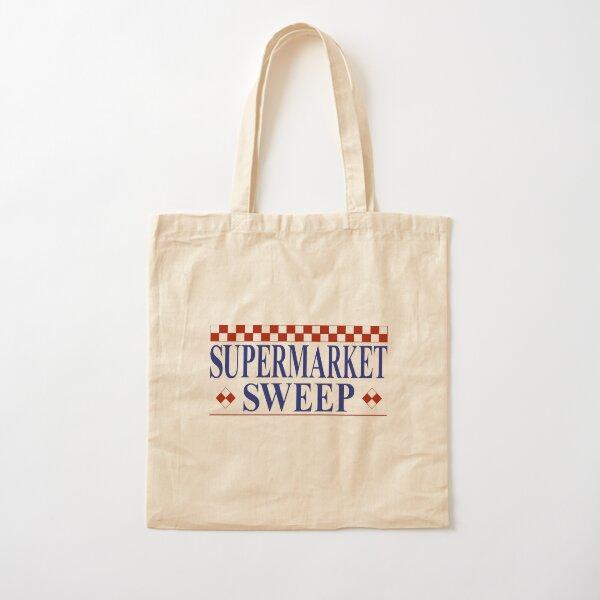 Supermarket Sweep Cotton Tote Bag