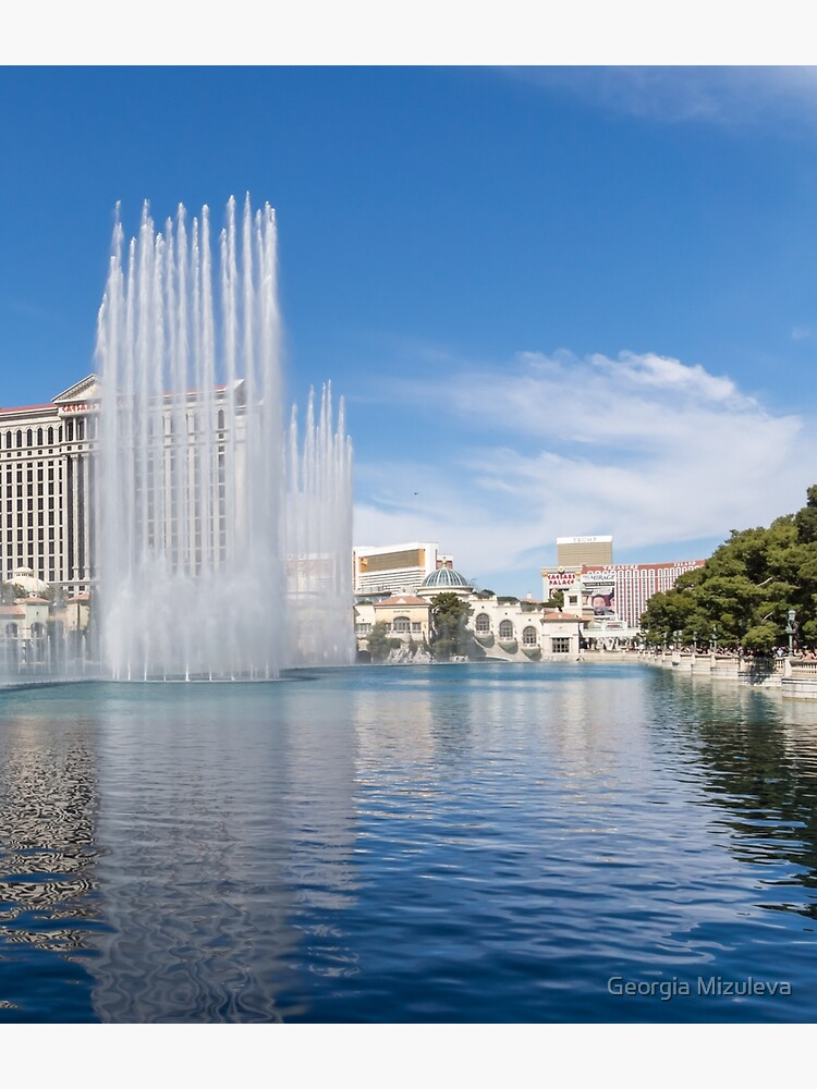 Musical Patterns Grand Finale - the Dancing Fountains at Bellagio Las Vegas by GeorgiaM