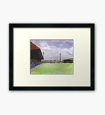 Stockport County - Edgeley Park Framed Print