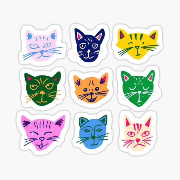 Caturday Vibes Sticker