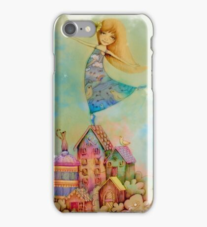 dancing on rooftops iPhone Case/Skin