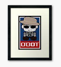 Frank O'bot 2.0 Framed Print