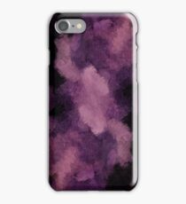 iPhone iPad Cases Violet And Black Grunge Abstract Texture iPhone Case/Skin