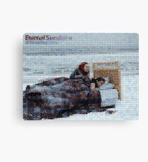 Mosaic: Eternal Sunshine of the Spotless Mind Canvas Print