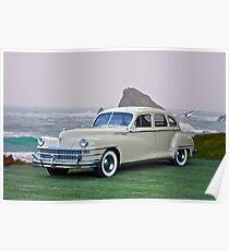 1947 Chrysler 'New Yorker' Sedan Poster