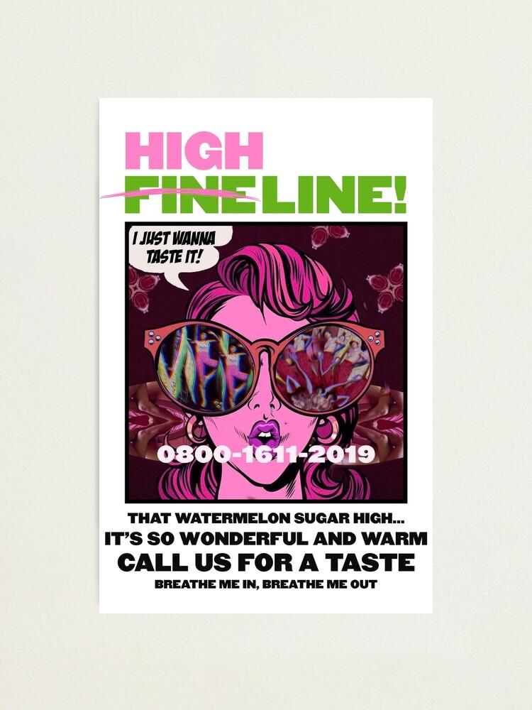 Alternate view of HIGH LINE PRINT Photographic Print