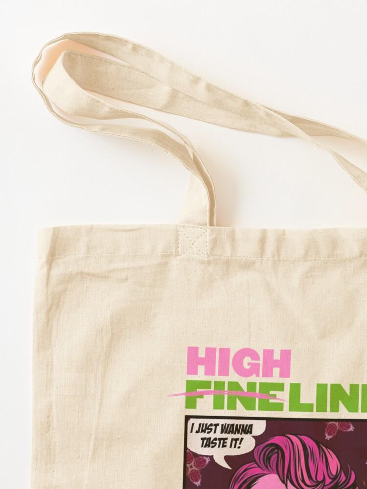 Alternate view of HIGH LINE PRINT Tote Bag