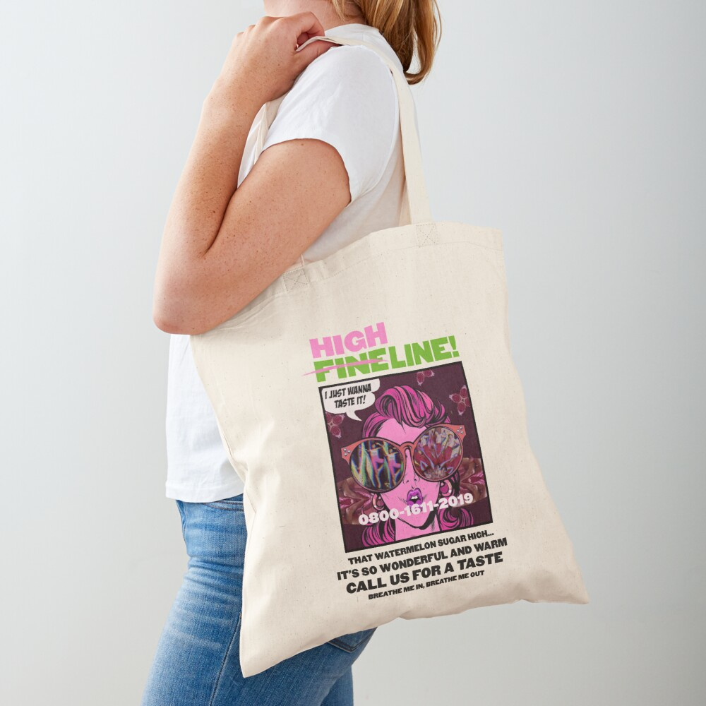 HIGH LINE PRINT Tote Bag