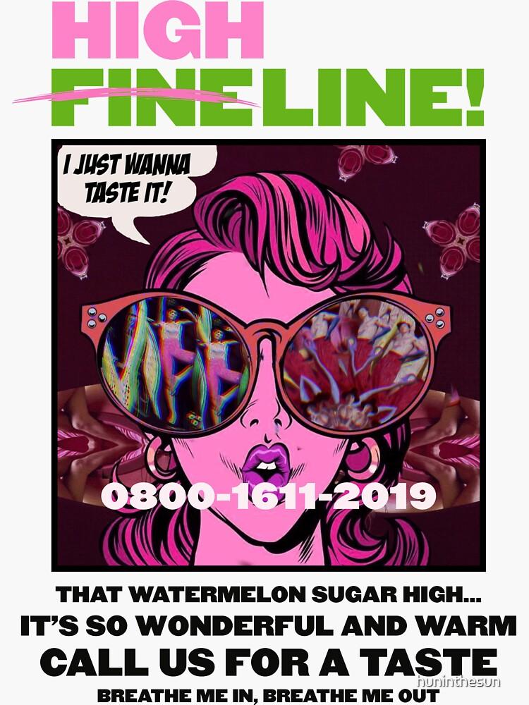 HIGH LINE PRINT by huninthesun