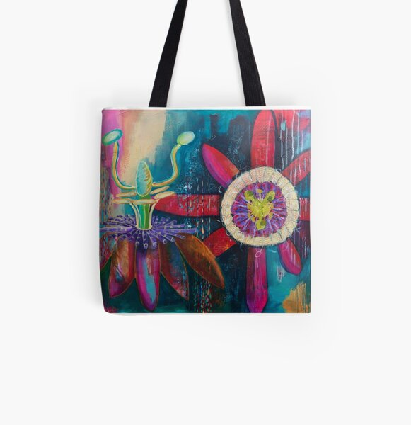 Passion All Over Print Tote Bag