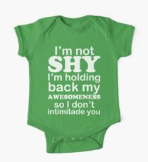 I am not SHY Kids Clothes