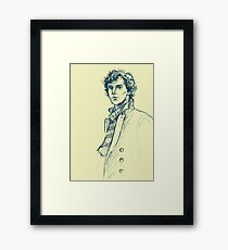 The Precaution of a Good Coat Framed Print