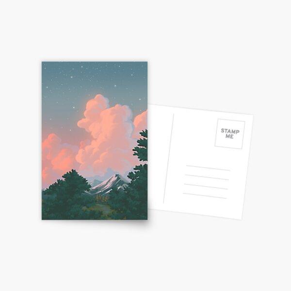 landscape study #1 Postcard