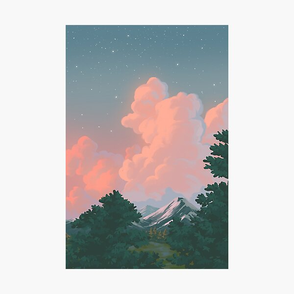 landscape study #1 Photographic Print