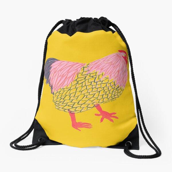 Chicken Life Drawstring Bag